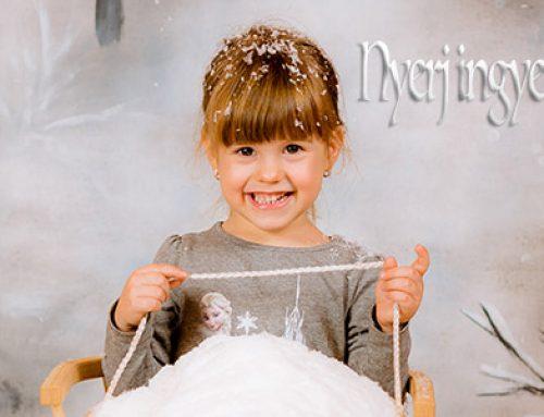 Nyerj ingyenes baba, kismama, vagy család fotózást